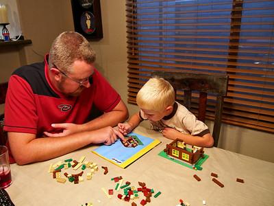 Building Legos
