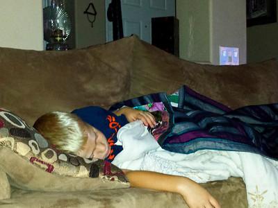 Sleepy Broncos Fan