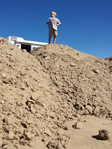 King of the dirt pile