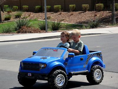 Ride in the Power Wheels