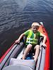 Back in the boat