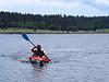 Me paddling