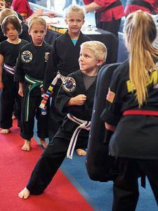 Karate Belt Graduation