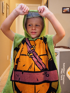 Ninja Turtle towel