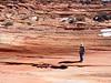 John surrouned by sandstone