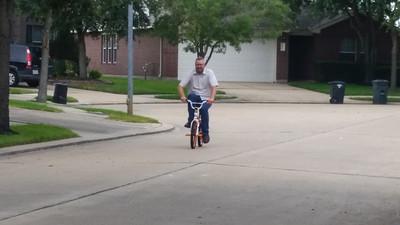 I'm a little big for the bike
