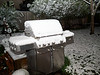 White stuff all over my grill