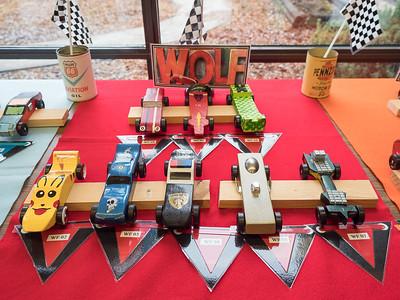 Wolf Den cars