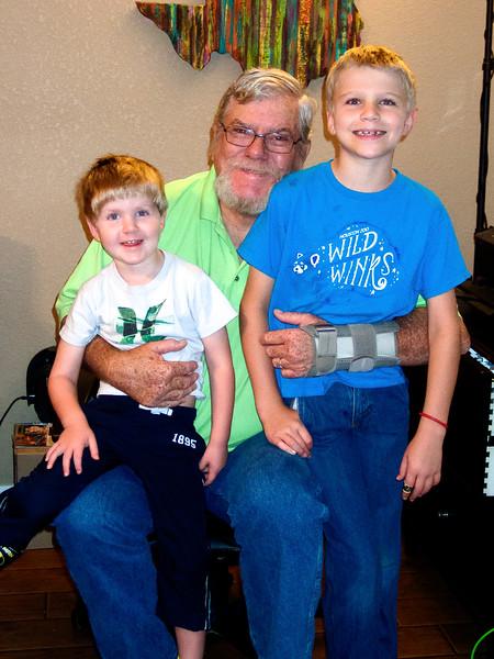 Grandpa & Grandsons
