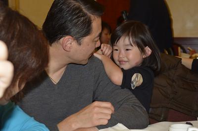 Cousin Albert and his daughter Kate.