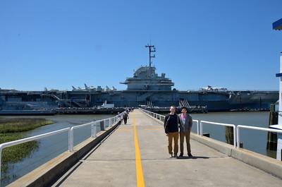 Touring the USS Yorktown