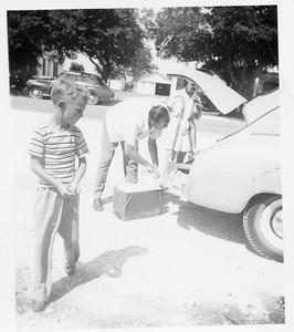 Ronnie Howell, Rayburn Howell, and Fairy (Stone) Howell