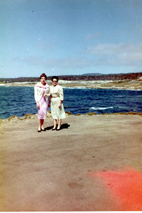 Darla Stone and Mrytle Wasson McCoy, Monterey CA