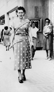 My Mom - Street photographer shot, 1940's