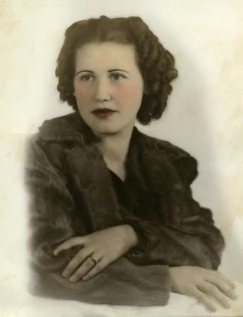 Evelyn Wasson, circa 1935