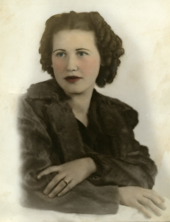 Evelyn Wasson, circa 1935