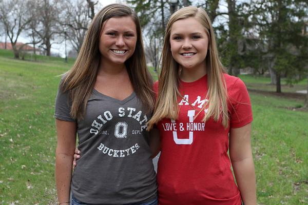 Schae and Maddie's Grad pics