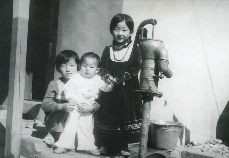 Jung-chul, Chung-yi, and Jin-hee Choe: nieces and nephew.