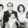 Jung-chul, Chung-yi, Jin-hee, with their parents: Kim's sister On-sook and Mr. Choe....