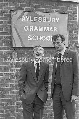 Kenneth Williams at Aylesbury Grammar School, Oct 8 1981