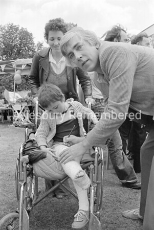 Peter Cook at Manor House Fete, July 1981