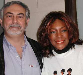 "Dave with ""The Supremes""' Mary Wilson"