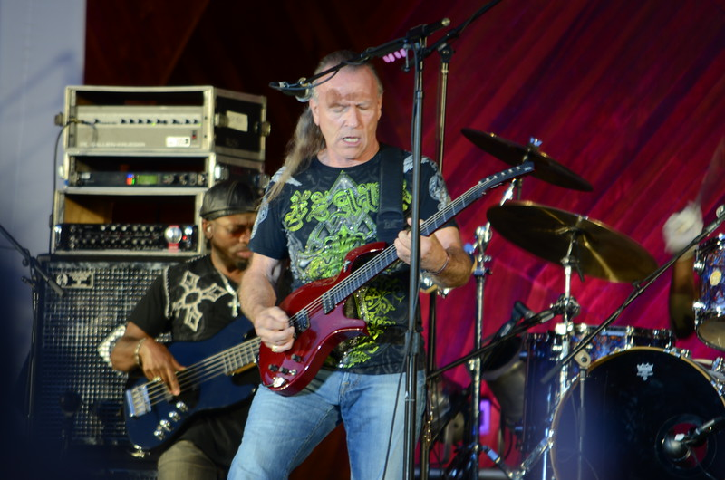 Mark Farner (Formerly of Grand Funk Railroad) at Boston's Hatch Shell, 21 July 2012