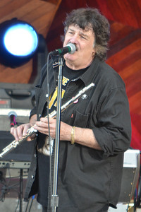 Burton Cummings (Former lead singer of Canada's The Guess Who) at Boston's Hatch Shell, 21 July 2012