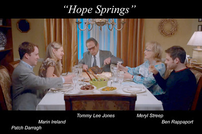 "Family dinner in ""Hope Springs"""