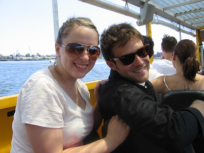 Megan Kane and Ben Rappaport