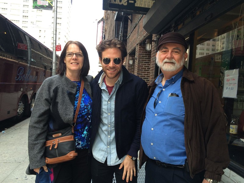 Judi and Dave with Ben Rappaport