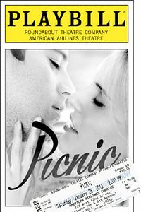"""Picnic"" Playbill"