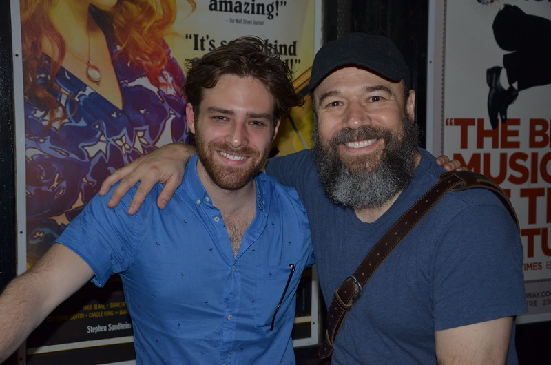 Ben Rappaport and Danny Burstein