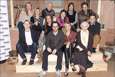 "Cast of Broadway's ""Picnic"""