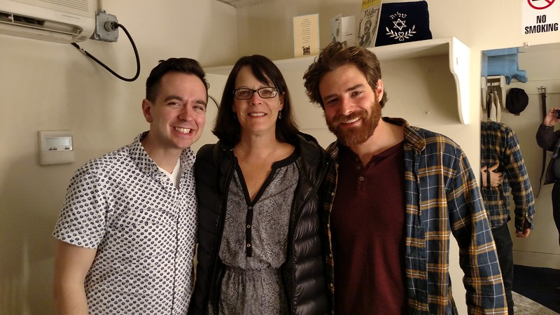 Judi with Ben Rauhala and nephew Ben Rappaport