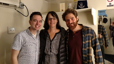 Judi with Ben Rauhala and nephew Ben Rappaport