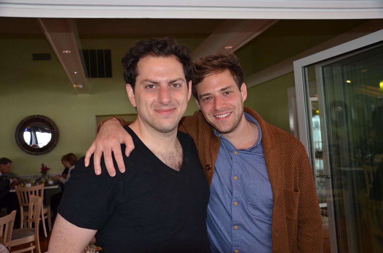 Michael Bernardi and Ben Rappaport