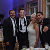 Ben and Megan Rappaport with Rizwan Manji and Parvesh Cheena