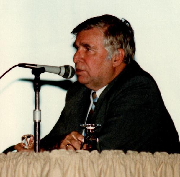 """Star Trek creator Eugene Wesley """"Gene"""" Roddenberry"""