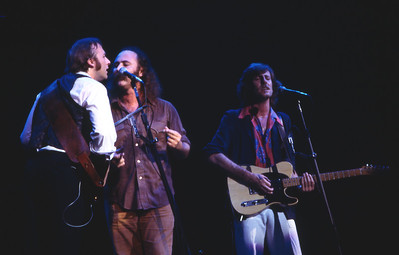 Stephen Stills, David Crosby, and Graham Nash
