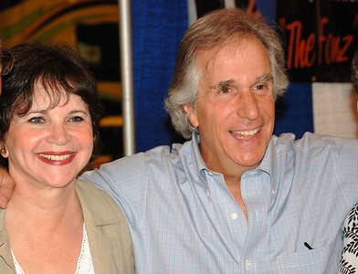 Henry Winkler & Cindy Williams