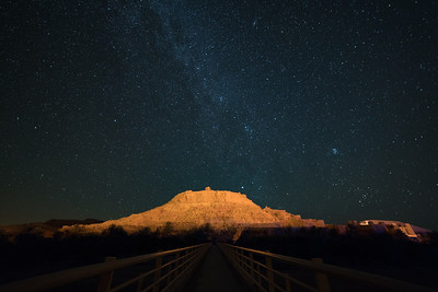 Ait Ben Haddou and the Milky Way