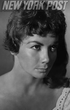"Portrait of Chana Eden, star of ""Wind Across the Everglades"" 1958"
