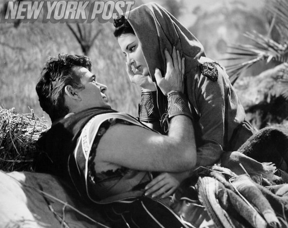"""Stuart Whitman and Elana Eden star in """"The Story of Ruth"""" 1960"""