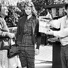 """TV Show """"The Naked City"""" in production shows Celia Adler and Lois Nettleton ready for their cue."""