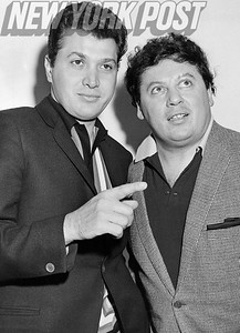 The comedy duo of Steve Rossi and Marty Allen. 1963
