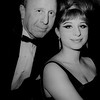 Film producer Ray Stark and actress/singer Barbara Streisand
