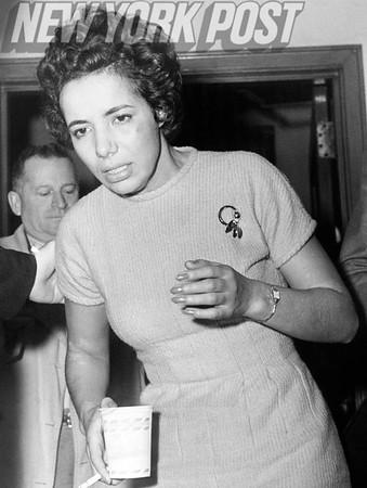 Yesmina Ezersky Shoots a Cop!  1959