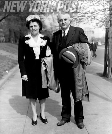 Gerald B Winrod and wife,  Winrod and defendants were freed from sedition trial after death of the judge in 1944.