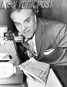 Sidney Ungar,  a real estate developer who hoped to obtain a contract from the city of Manhattan in 1959.
